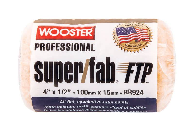WOOSTER BRUSH COMPANY 4'' SUPER/FAB ROLLER COVER 1/2'' NAP