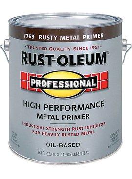 RUST-OLEUM CORPORATION RUSTY METAL PRIMER OIL BASED GALLON
