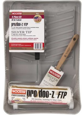 WOOSTER BRUSH COMPANY WOOSTER PRO/DOO-Z FTP SILVER TIP KIT