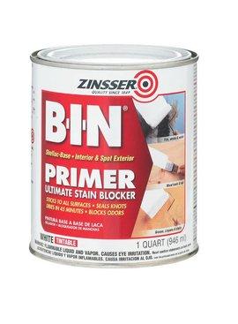 RUST-OLEUM CORPORATION ZINSSER 00904 B-I-N PRIMER-SEALER SHELLAC - QT