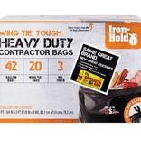 TRASH BAG CNTRCT42GBX20