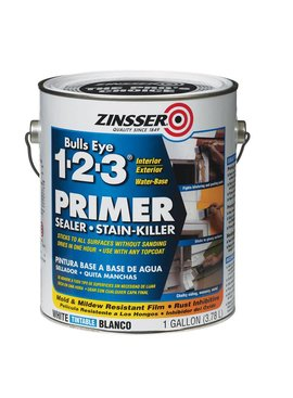 RUST-OLEUM CORPORATION BULLS EYE 02001 1-2-3 WATER BASE PRIMER - GAL