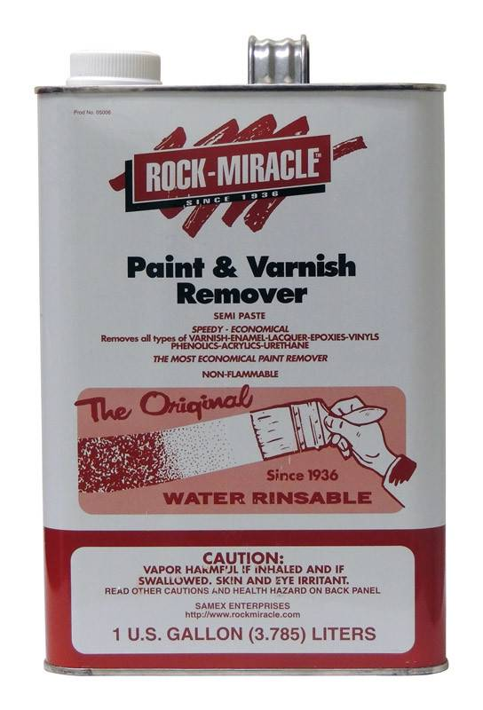 ROCK MIRACLE  PAINT & VARNISH REMOVER--GAL