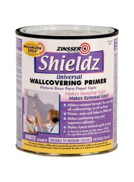 RUST-OLEUM CORPORATION SHIELDZ 02504 PRE-WALLCOVERING PRIMER - QT