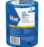 3M BLUE MASK MULTI SURF TAPE 48mm X 55m 3PK