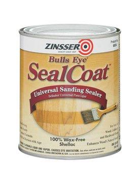 RUST-OLEUM CORPORATION ZINSSER 00854 BULLS EYE SEAL COAT SANDING SEALER - QT