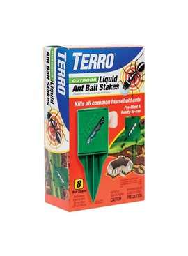 TERRO LIQUID OUTDOOR ANT STAKE - 8 STAKES PER PKG