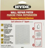 HYDE TOOLS HYDE 09899 6'' X 6'' S/A ALUMINUM WALL PATCH - EACH