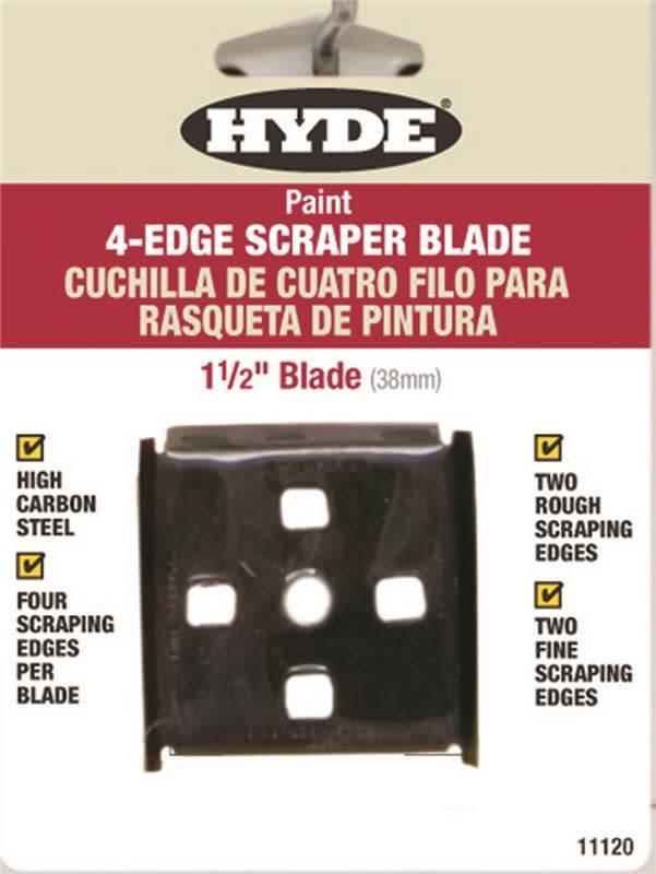 HYDE TOOLS HYDE 11120 1-1/2'' LIFETI ME 4-EDGE SCRAPER BLADE - EACH