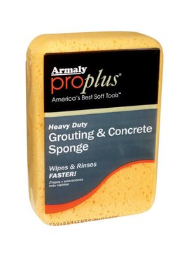 GROUT/CONCRETE SPONGE