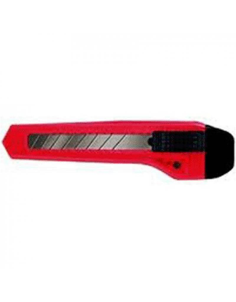 ALLWAY TOOLS 7 POINT  SNAP OFF KNIFE W/1 BLADE 1/CARD NEON