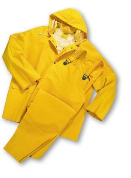 West Chester 44035-2XL XXL 3pc 35mil Rainsuit