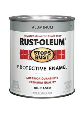 RUST-OLEUM CORPORATION ALUMINUM PROTECTIVE ENAMEL QUART