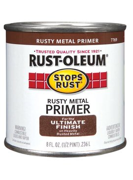 RUST-OLEUM CORPORATION RUSTY METAL PRIMER  HALF PINT