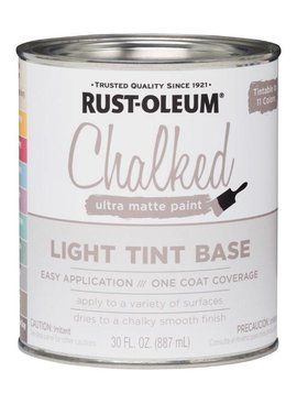 RUST-OLEUM CORPORATION CHALKED ULTRA MATTE PAINT