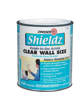 RUST-OLEUM CORPORATION QT SHIELDZ CLEAR WALLPAPER PRIMER ACRYLIC