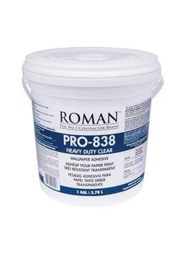 ROMAN PRO 838 CLR VNYL ADHESIVE - GALLON