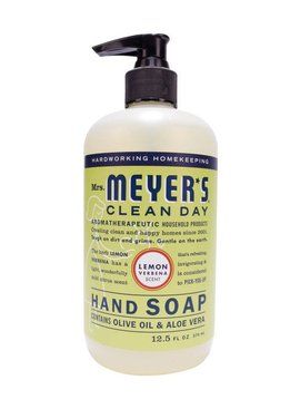 MRS. MEYERS 12.5OZ LIQUID HAND SOAP - LEMON VERBENA