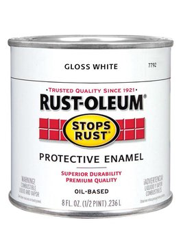 RUST-OLEUM CORPORATION PAINT.5PT GLOS WHITE R-O