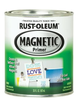 RUST-OLEUM CORPORATION GRAY MAGNETIC PRIMER QUART