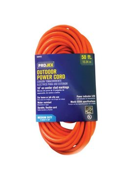 PROJEX 50' IN/OUT EXTENSION CORD