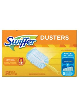 SWIFFER DUSTER KIT UNSCENTED 5CT