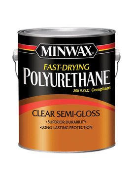 MINWAX FAST DRYING POLYURETHANE SEMI-GLOSS GALLON