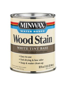 MINWAX MINWAX WHITE WATER BASED STAIN TINT BASE QUART