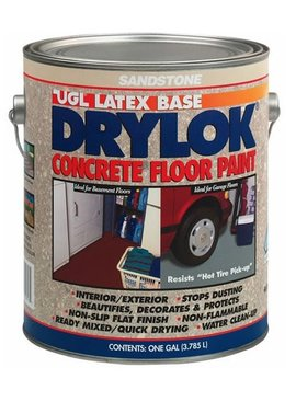 UGL LABS INC Drylok Latex Concrete Floor Paint Sandstone - GAL