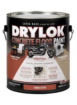 UGL LABS INC Drylok Latex Concrete Floor Paint Terra Cotta - GAL