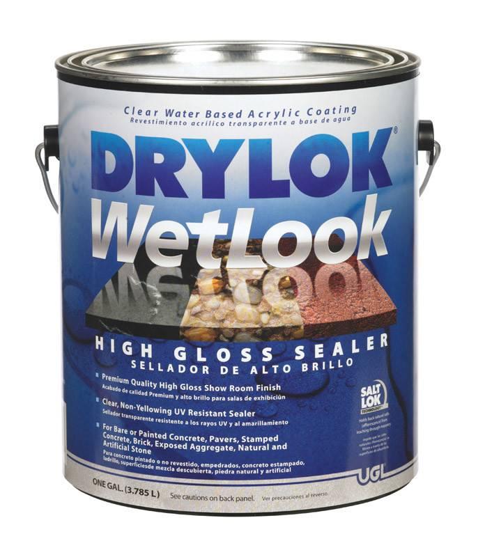 UGL LABS INC Drylock Wetlook High Gloss Sealer-GAL