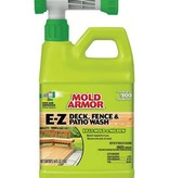WM BARR 64OZ MOLD ARMOR E-Z DECK FENCE & PATIO WASH HOSE END SPRAYER