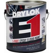 UGL LABS INC Drylok E1 1-Part Epoxy Platinum  Floor Paint