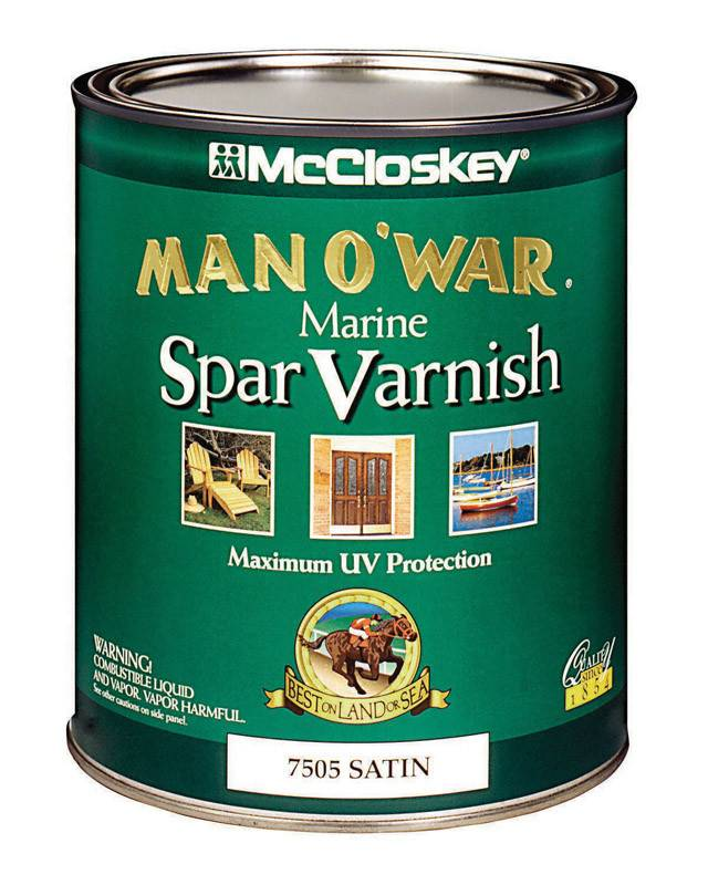 MAN O WAR  SATIN SPAR VARNISH - QT