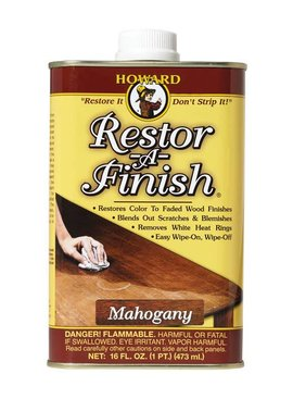 HOWARD 16005 MAHOGANY RESTOR-A-FINISH - PINT