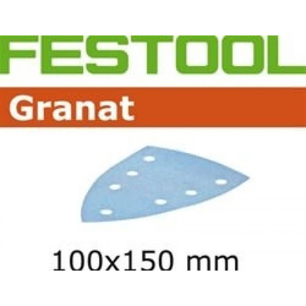 Festool Festool sandpaper       STF DELTA/7 P 80 GR  50X