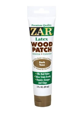 UGL LABS INC ZAR Wood Patch #304 Dark Tone - 3 OZ tubes