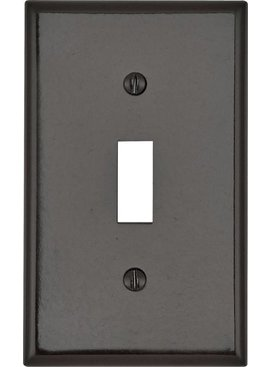 LEVITON LEVITON  ONE GANG SWITCH WALLPLATE BROWN