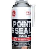 GENERAL ELECTRIC G.E. POINT & SEAL WHITE 100% SILICONE 1 KITCHEN & BATH 7.25OZ