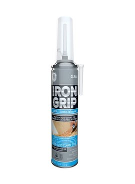 GENERAL ELECTRIC G.E POINT & SEAL CLEAR IRON GRIP ADHESIVE SILICONE 7.25OZ
