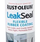 RUST-OLEUM CORPORATION RUSTOLEUM LEAKSEAL CLEAR FLEXIBLE RUBBER COATING 11OZ