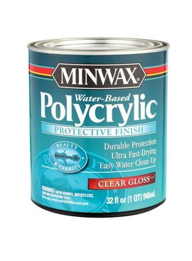 POLYCRYLIC PROTECTIVE FINISH GLOSS QUART