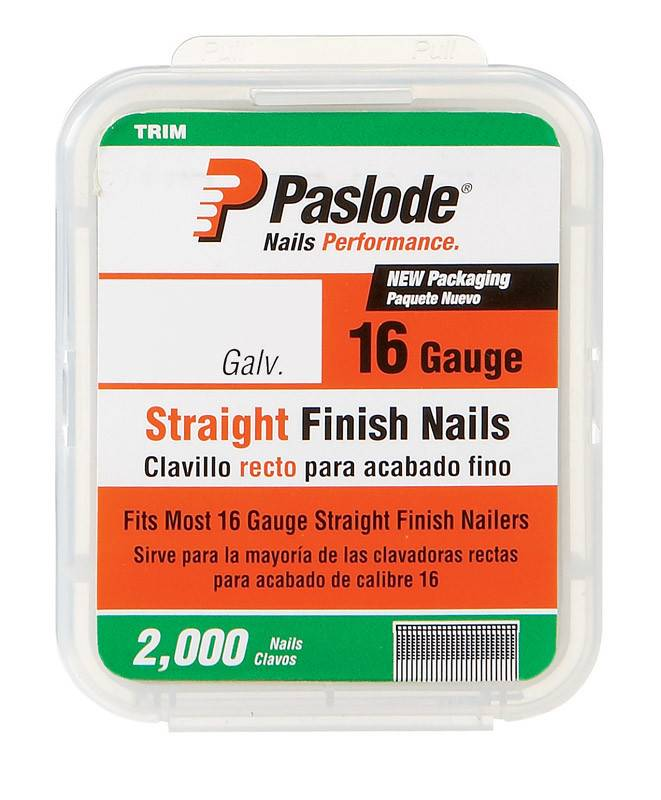 "1-1/2"" 16 GA GALV FINISH NAIL 2M"