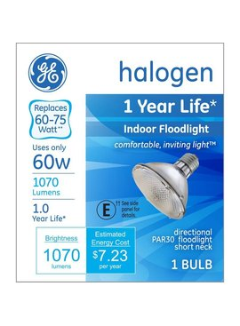 GENERAL ELECTRIC 48W PAR 30 SHORTNECK INDOOR FLOODLIGHT