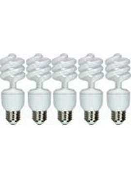 GENERAL ELECTRIC 13W ENERGY SMART 60 SPIRAL CFL 5/PK
