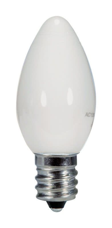SATCO PRODUCTS SATCO S9157 .5W C7/WH/LED/120V/CD NIGHT LT