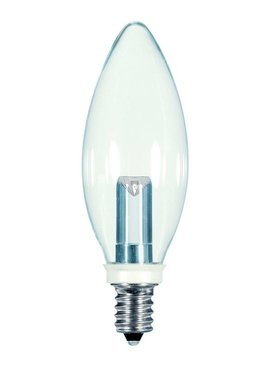 SATCO PRODUCTS SATCO S9152 1W CTC/LED/120V/CD 1W BA9 CLR BULB