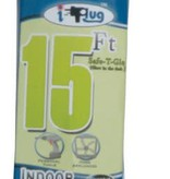 15'  I-PLUG EXTENSION CORD W/ SAFE-T-GLOW