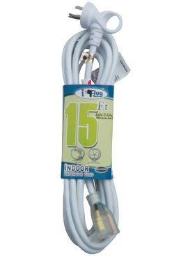 15'  I-PLUG EXTENSION CORD W/ SAFE-T-GLOW