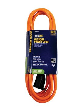 PROJEX 10' IN/OUT EXTENSION CORD